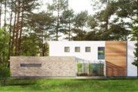 Dom z basenem w Łomiankach